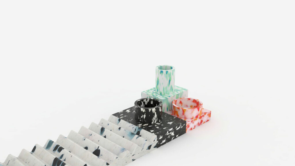 SILESIA - tableware 100% made of recycled plastic
